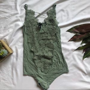 Lacey Turquoise Bodysuit ✨